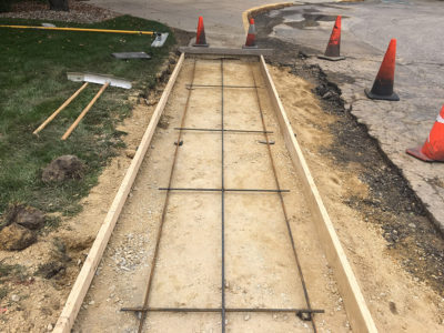 Concrete Paving Prep Work